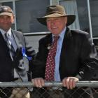 Horse convener Lyndon Morris (right) chats to fellow Northern (Rangiora) A&P Association...