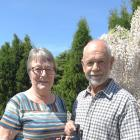 Anita and Alan Blakemore are delighted with their silver medal win at at the New Zealand Extra...