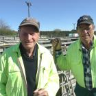 Tessco yard staff Ian Rogers (left) and Jeff Grigor are two of about 20 staff working at the...