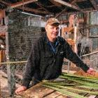 Dairy farmer Vaughan Templeton and his family operate the restored Templeton Flax Mill and...
