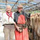 Alex (left) and Merrall MacNeille say they love what they do and enjoy creating more than just...