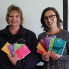MPI manager of animal welfare sector support Leonie Ward (left) and animal welfare senior adviser...