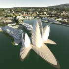 A concept design of the redeveloped Steamer Basin in Otago Harbour. PHOTO: ANIMATION RESEARCH