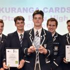 Young Enterprise Scheme regional winners for 2018 are a team of pupils from Otago Boys' High...