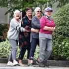 "Former Dunedin Teachers College classmates (from left) Jocelyn ""Joss'' Murray (nee Thompson),..."
