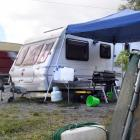 Campers are being fined for staying beside the Waikouaiti River. Photo: Stephen Jaquiery