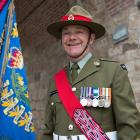 Warrant Officer Class Two Shane Parker was a member of the New Zealand Defence Force contingent...
