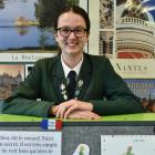 Columba College pupil Abby Bowmar is off to New Caledonia after winning the New Zealand Concours...