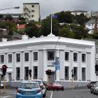 The Dhammachai International Research Institute, in the former BNZ building in Dunedin. PHOTO:...