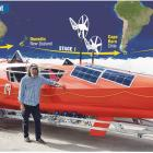 Russian adventurer Fedor Konyukhov prepares to face the challenging Southern Ocean. PHOTOS:...