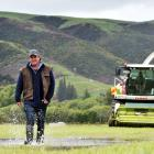 Total Harvesting Ltd owner Craig Mitchell is preparing to operate 24 hours a day. PHOTO: PETER...