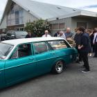 Balclutha man Mitchell McPhee (23) is farewelled by family and friends at South Otago Town &...