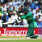 Mohammad Hafeez hit a boundary with two balls remaining to give Pakistan victory over New Zealand...