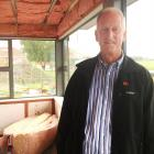 Maniototo Health Services Ltd chairman Stuart Paterson stands in what will be the main lounge  of...