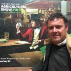 Tim Black is delighted by the way the New Zealand Agricultural Show went. Photo: Chris Tobin