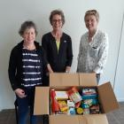 Rural Support Trust Mid Canterbury welfare team (from left) Wendy Hewitt, Marg Verrall and newly...