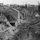 The town of Roye as  it appeared when the French had forced its evacuation by the Huns. — Otago...
