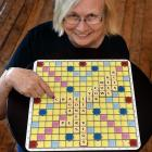 Dunedin Scrabble Club president Ruth Groffman prepares for a busy weekend, including against...