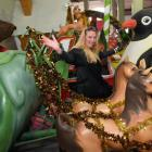 Dunedin Santa Parade Trust chairwoman Michelle Ellwood hopes for good weather during this Sunday...