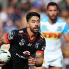 Shaun Johnson will return for the Warriors this weekend. Photo: Getty Images