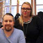Sittr co-founders Samantha (right) and James Mckinnon. Photo: Supplied via NZ Herald