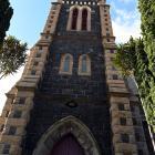 St Matthew's Anglican Church on the corner of Hope and Stafford Sts, Dunedin. Photo: Linda Robertson