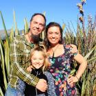 The family that sings together: Jeremy van Riel, Tasmin van Riel (10) and Anna van Riel. Photos:...