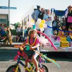 The West Otago Theatrical Society float in the 2000 Tapanui Christmas Parade. The parade...