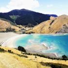 The view of Cable Bay from Pepin Island. Photo: RNZ