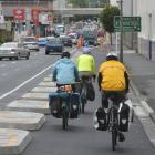 Dunedin's one-way cycle lane system is almost complete, and pretty much ready to use. David...
