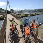 Dunedin 60+ Group members (clockwise from front:) John Jensen, Betty Finnie, Bill Howell, Pauline...