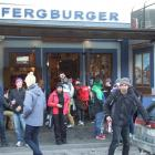 Fergburger is offering to cover the cost of widening the footpath to ease congestion outside its...