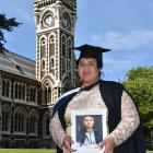 Salote Makasini holds a photograph of her Tongan cousin Rima Sikei who died a week ago. Photo:...