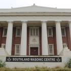 The Southland Masonic Centre on Forth St, Invercargill. PHOTO: SHARON REECE