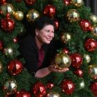 Dunedin City Council community development and events manager Joy Gunn is surrounded by council...