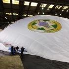 Fedor Konyukhov's balloon The Russia, which he plans to fly to 25km above the earth in another...