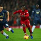 Matteo Darmian (left) of Manchester United and Naby Keita of Liverpool will both play German...