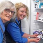 Clutha Health First nurses Jeannette Blair (left) and Andrea Sim say it has been a quiet year for...