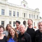 Oamaru Opera House staff (from left) Carla Arlidge, Veronika Brylinska, Maddie Maxwell, Frances...