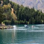 Boating on Lake Benmore in 2015. Photo: ODT files