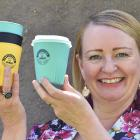 Steph Fry is on a mission to reduce the number of disposable cups polluting the environment....