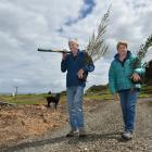 Kim and Diane Rapley say they cannot understand why someone would take more than 100 native...