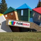 The Tumbling Towers remain an icon alongside new attractions at Wanaka's Puzzling World.
