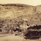 Gold Workings at the Blue Spur, Gabriel's Gully, 1873-1891, Otago, by Herbert Deveril. Purchased...