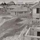 Stenhope Crescent takes shape in December 1948. Photo: Evening Star