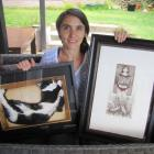 Alexandra artist Marion Vialade displays some of her artworks ahead of this weekend's Art in the...
