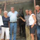 Sinnamon family members (from left) Jan Sheppard, of Wellington, Penny Sinnamon, of Omakau, Grant...