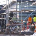 KiwiBuild houses under construction in Auckland last July. Photo: NZ Herald