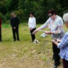 South Otago Catholic pastoral area assistant Stephanie Swann and helper Maureen Cummings, of...