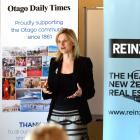Bindi Norwell, chief executive of the Real Estate Institute of New Zealand, during a presentation...